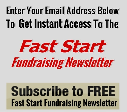 Fast Start Fundraising Newsletter